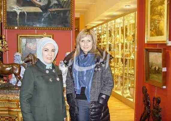 قصر اردوغان وزوجته