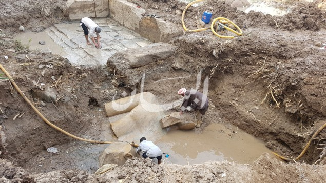 حفر التمثال 1