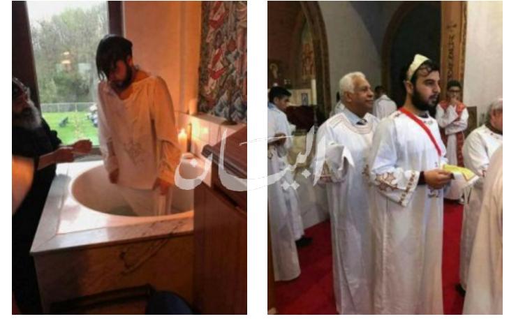قاضى جبهة النصرة اصبح مسيحى
