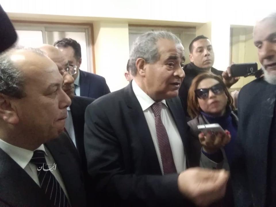وزير التموين يتفقد مطاحن وسط وغرب الدلتا بكفر الشيخ
