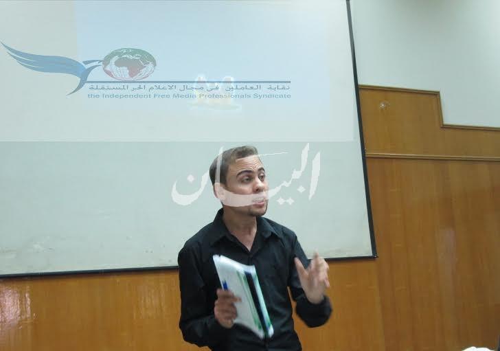 محمود حجاج  مؤسس الاعلامالحر