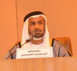 معالي أحمد بن محمد الجروان رئيس البرلمان العربي-3