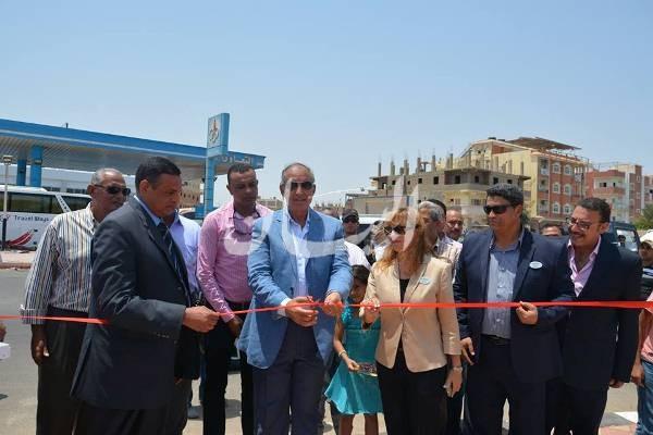 إفتتاح ميدان العروسة المقدم من فندق موفنبيك القصير لأهالى المدينة
