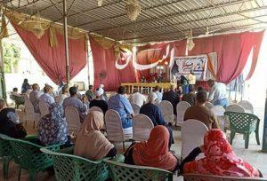 المجلس القومي للمرأة يستمر في حملته التوعوية لانتخابات الشيوخ في المحافظات