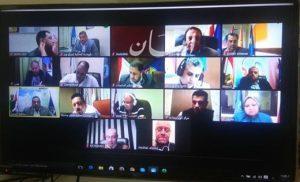 """""""محافظ البحيرة """" اجتماعا مع رؤساء المدن عبر الفيديو كونفرانس بشان الإجراءات الخاصة بشم النسيم غدا"""