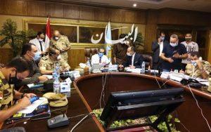 محافظ الغربية يترأس غرفة العمليات المركزية بالمحافظة لمتابعة انتخابات مجلس الشيوخ.