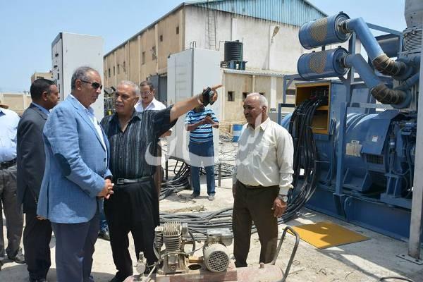 إستياء محافظ البحر الأحمر من مشكلة الكهرباء بالقصير