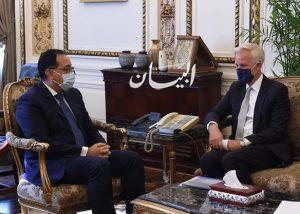 """رئيس الوزراء يلتقي نائب رئيس """"سيتي بنك جروب"""" للخدمات المصرفية للشركات والاستثمار"""