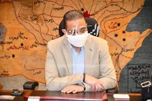 الانصارى : إزالة 32 حالة تعدٍ بالبناء على الأراضي الزراعية وأملاك الدولة