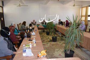 """رئيس جامعة المنيا يستقبل وفد """"المجلس القومي للمرأة"""" و""""صندوق الأمم المتحدة الإنمائي"""""""
