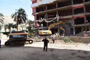 محافظ المنيا : إزالة 84 حالة تعد على الأراضي الزراعية وأملاك الدولة