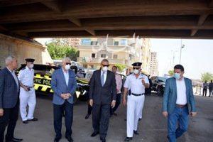 محافظ القليوبية ومدير الأمن يشاهدان إفتتاح طريق الرياح التوفيقى بعد إغلاقه أكثر من ٩سنوات لدواعى أمنية