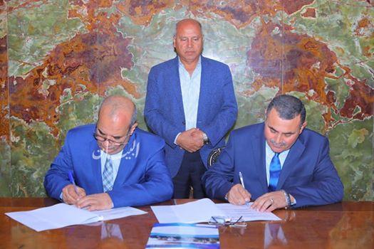 بالصور ... وزير النقل يشهد توقيع عقد إتفاق إدارة وتشغيل وصيانة العبارتين القاهرة والرياض