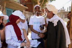 قوافل البنك الزراعي المصري تجوب قرى حياة كريمة .