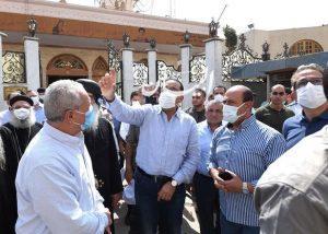 رئيس الوزراء يتابع أعمال الترميم بمعبد الكرنك وطريق الكباش