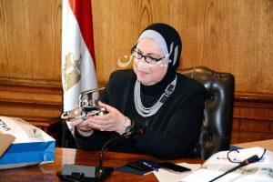 وزيرة الصناعة تبحث توفير مدخلات انتاج مصرية لتلبية احتياجات الصناعة الوطنية