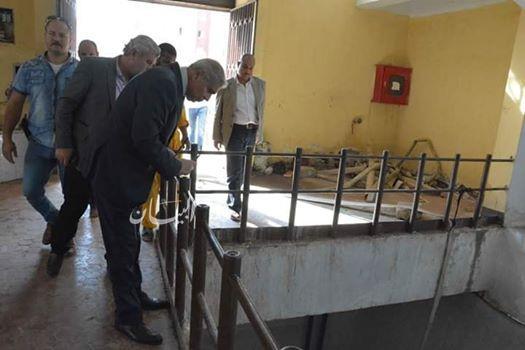 محافظ المنيا يتفقد محطة مياه المنطقة الصناعية تضم 25 بئر ارتوازي لخدمة 200 مصنع