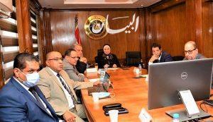 وزيرة التجارة والصناعة تبحث مع ممثلى شركة أمازون العالمية خطط التوسع فى السوق المصرى