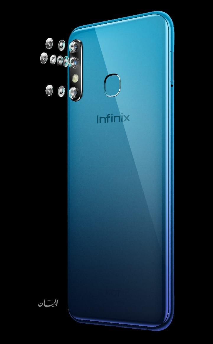 "INFINIX HOT 8 ""ملك الترفيه"" يطور مفاهيم الهواتف الاقتصادية في السوق المصري"
