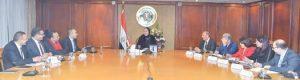 وزيرة التجارة : الوزارة حريصة على تعظيم الإستفادة من البرامج التمويلية للبنك الدولي لتنفيذ مشروعات تنموية