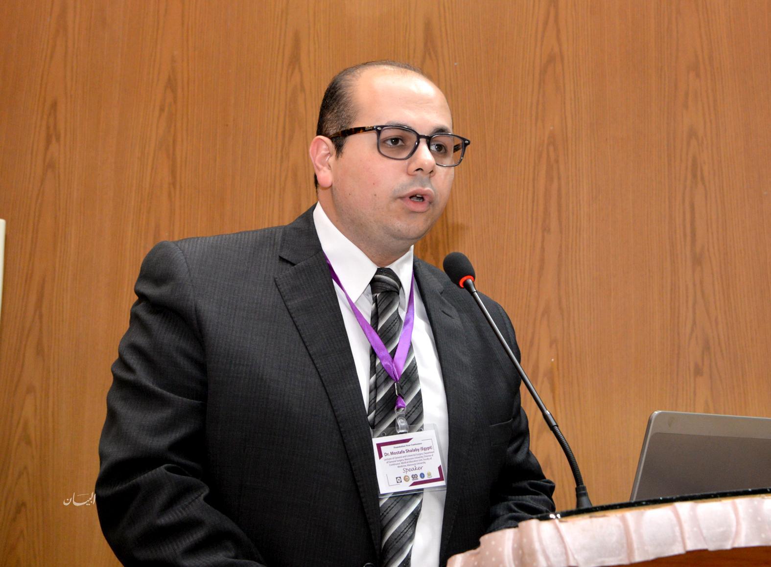 بالصور : افتتاح المؤتمر الأول لشباب الأطباء وحديثى التخرج بكلية الطب جامعة المنصورة