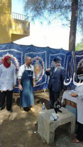 محافظ الغربية يتابع فعاليات القافلة الرابعة بالقرشية ضمن احتفالات العيد القومي للمحافظة