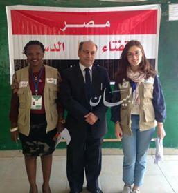 عبد الرحمن :متابعين دوليين أشادوا بروعة تنظيم إجراءات التصويت على الإستفتاء