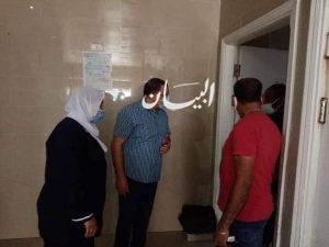 الحفناوى يتفقد طوارئ الجراحه والعظام بمستشفى السويس العام