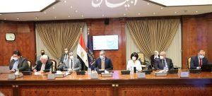 وزيرا السياحة والآثار والاتصالات يتابعان الموقف التنفيذي لمشروعات التحول الرقمي.