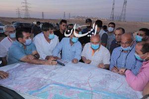 """"""" الوزير """" يتفقد تنفيذ 3 مشروعات عملاقة في مجال الجر الكهربائي السككي ... بالصور"""