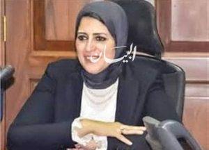 وزيرة الصحة : تجديد الثقة في وكيل مديرية الصحة بالبحيرة
