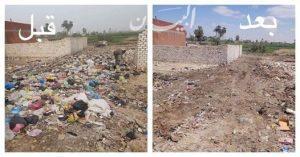 محافظة الفيوم رفع 6 ألاف طن قمامة بمراكز اطسا وأبشواي وطامية