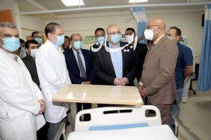 محافظ بني سويف يتفقد دعم المنظومة الصحية بالمستشفى التخصصي لشركة تيتان للأسمنت