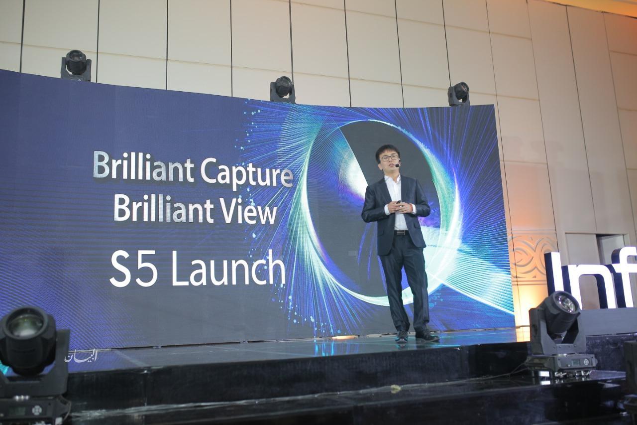 انفينكس تطلق S5 اول هاتف بكاميرا سيلفى 32 ميجابكسل