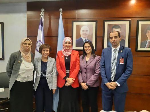 أكاديمية البحث العلمي شاركت في اجتماع عن الابتكار التكنولوجي وريادة الأعمال في الأردن