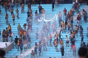 البث للاتحاد الافريقي الكاف بأن حكم مباراة الأهلي والترجي
