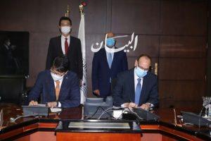 وزير النقل يشهد توقيع عقد تنفيذ مشروع تحديث نظم الإشارات والإتصالات