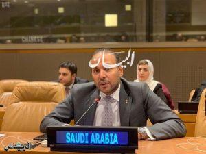 نائب مندوب المملكة العربية السعودية الدائم لدى الأمم المتحدة الدكتور خالد بن محمد منزلاوي،