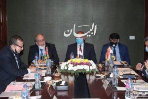وزير النقل يشارك في أعمال الجمعية العمومية للجسر العربي للملاحة