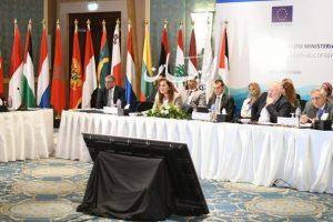 تشارك بالاجتماع الوزاري الثاني للبيئة وتغير المناخ للاتحاد من أجل المتوسط