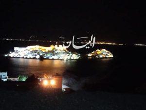 احتفالا بالذكرى الـ32 للعيد القومي لجنوب سيناء السياحة والآثار تضئ قلعة صلاح الدين الأيوبي بطابا .