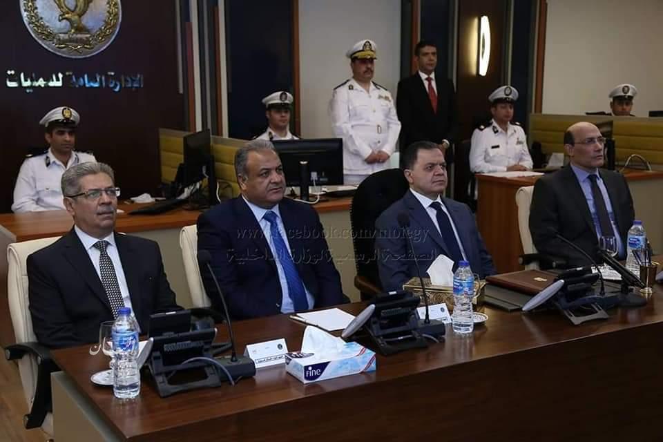 بالصور ... وزير الداخلية يتابع سير عمليه الإستفتاء على التعديلات الدستورية