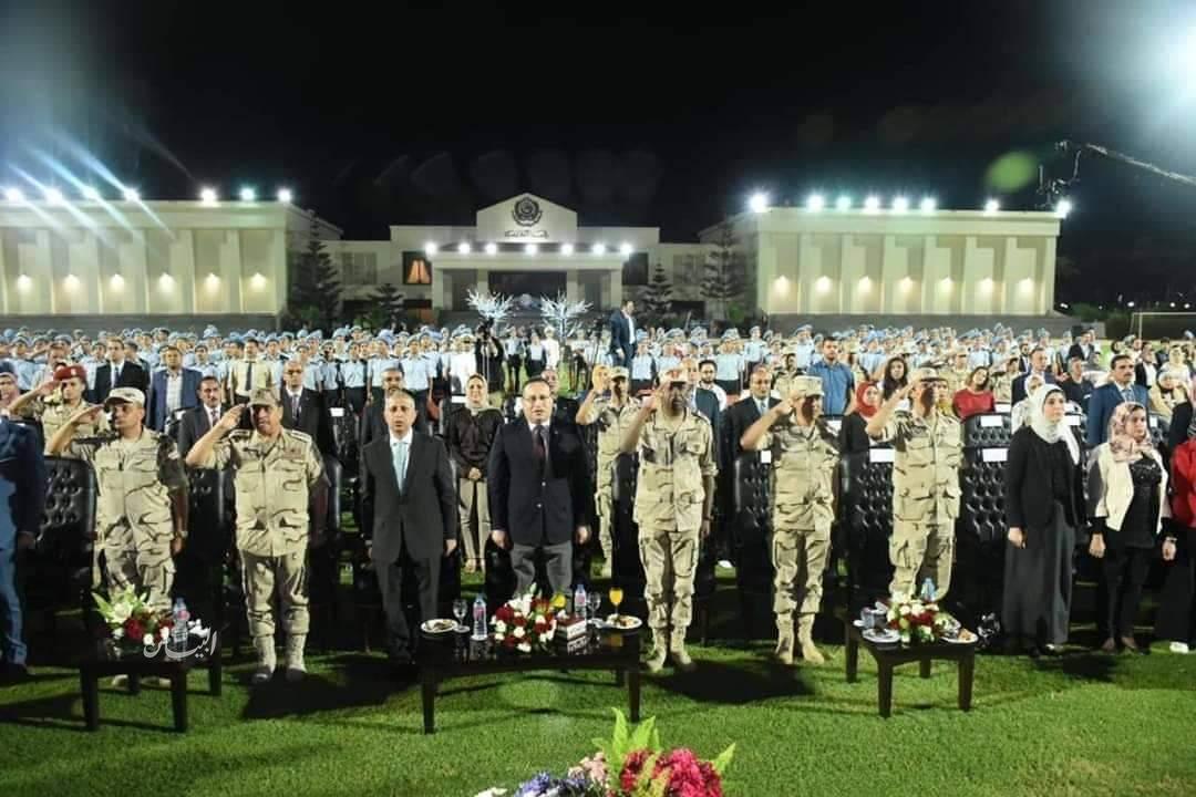 القوات المسلحة تنظم ندوة تثقيفية لطلبة الأكاديمية العربيه للعلوم والتكنولوجيا والنقل البحري بالإسكندرية