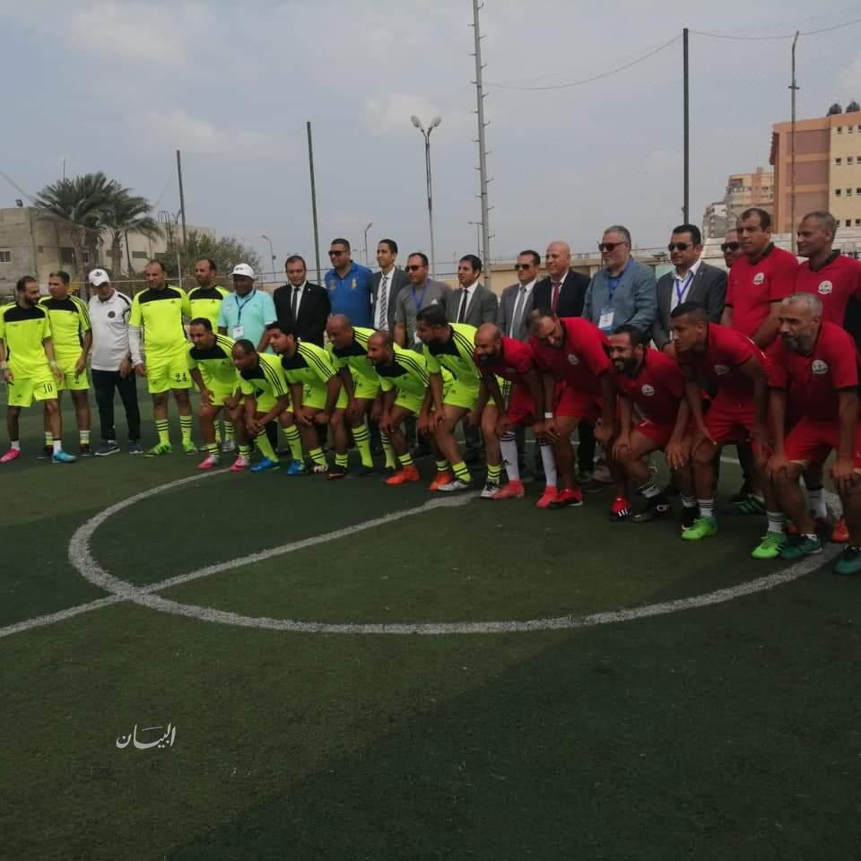 بالصور.. انطلاق الدورة الرياضية الثانيه للنقابة العامة للبترول بمنطقة الإسكندرية