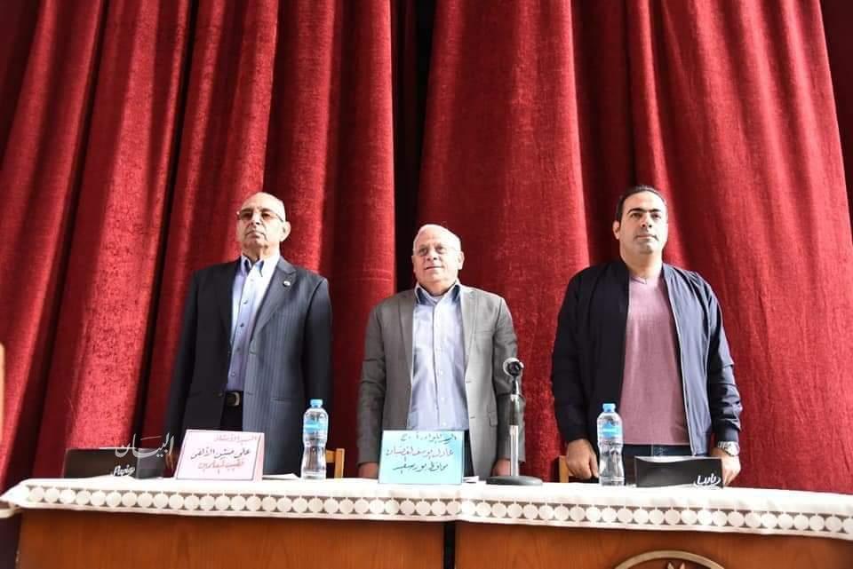 محافظ بورسعيد : نحمل على عاتقنا مهمة الاستمرار فى تحقيق التنمية والرخاء