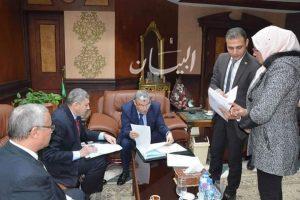 محافظ المنيا يوقع بروتوكول تعاون مع المجلس القومى لرعاية اسر الشهداء والمصابين