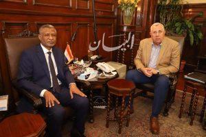 """""""القصير"""" يستقبل المدير القطري لـ""""الفاو"""" في مصر.. ويؤكد اهمية استمرار التعاون بين الجانبين"""