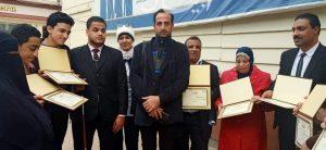 بالفيديو :سمير حجاج أشهر مغني ومبتهل من ذوي الهمم غنيت شكرا يا مصر