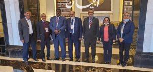 وفد البرلمان العربي المراقب فى الانتخابات النيابية في الأردنيه يشيد بكفاءة إدارة العملية الانتخابية