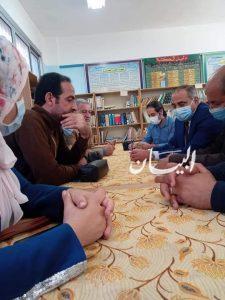 جامعة طنطا تقوم بعمل زيارة أستكشافية لأكبر قافلة طبية بقرية سجين بقطور